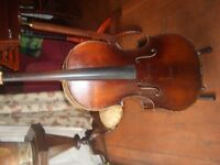 Antique Half size cello ,very high quality ,needs some repair