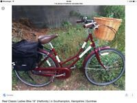 Wanted ladies basket bike