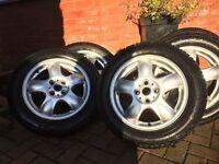 Mini Tyres. WINTER tyres on 15 inch Alloys