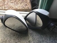 Pair of complete wing mirrors seat ibiza 2008-2016