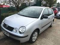 Volkswagen POLO 2004 1.4 Manual 5 Door Hatchback