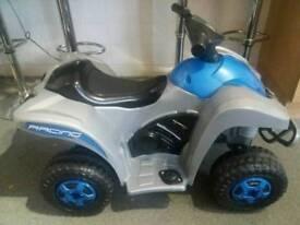 Battery powered quad bike