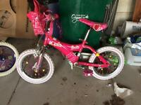 14 inch Girls Barbie Bicycle