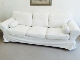 IKEA Ektorp 3 seater sofa in white for sale !!
