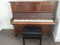 Piano & storage buffet for sale