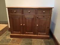 Pine sideboard cupboard