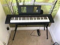 Yahmaha electric piano keyboard