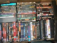 DVD, blueray, and playstation package