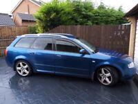 Audi, A4, Estate Avant, 2004, Manual, 1896 (cc), 5 doors 190bhp - MOT FAILURE!!!