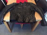 Hein gericke leather jacket 46 chest £40 Ono