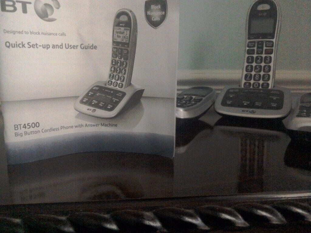 Phone 3BT Model 4500