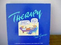 THERAPY - ORIGINAL VINTAGE BOARD GAME OF PSYCHOLOGY 1987