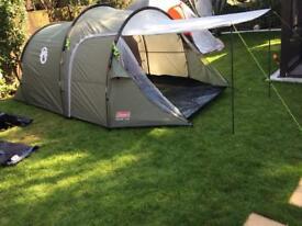 Coleman Coastline 3 plus tent. As new.