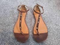 Womens fat face sandals
