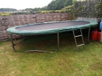 Jumpking 10 x 15 ft Oval trampoline