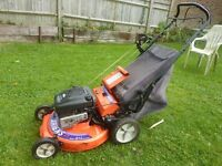 Ariens 21 cut self propelled commercial mower massive 6.5hp briggs engine costs £650 now (Newick)