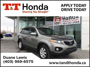 2013 Kia Sorento *C/S*LX V6 *PushStart, Heated Seats, No Acciden