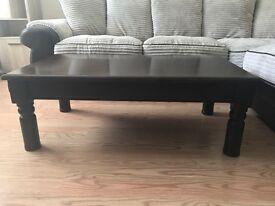 Homebase - Dark Brown Coffee Table £100 ONO