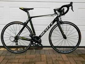 Scott Foil 40 105 Carbon Road Bike 54cm Medium. Barely used. Serviced