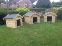 Strong Wooden Dog Kennel 3FT x 2FT Presure Treated