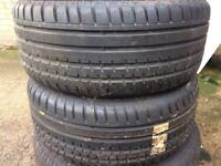 4 tyres with wheels 225/50 R16