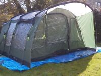 New Outwell Glenwood 600 6 Berth Tent With Footprint RRP £550
