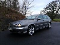 jaguar x-type estate 2.2 diesel stunning fully loaded!!