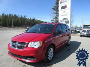 Red 2015 Dodge Grand Caravan SXT 7 Passenger, 33,472 KMs