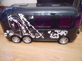 HUGE bratz bus tour bus - doll's house like barbie