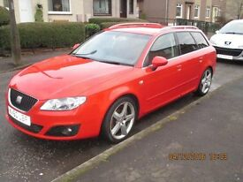 Seat Exeo ST ( Audi A4 body shape ) spares or repair