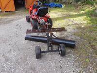 Grader / scraper / leveler/ for paddocks , drives etc