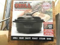 Micro Grill pan it turns your microwave inta grill
