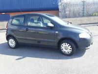 2007(57)VW FOX 1.2 URBAN MET GREY,LOW MILES,PRIVATE PLATE,CLEAN CAR,GREAT VALUE