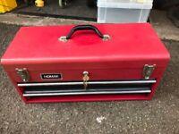 METAL HOMAK RED TOOL BOX
