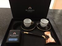 Turkish Coffee Set. Brand new, Selamlique luxury brand