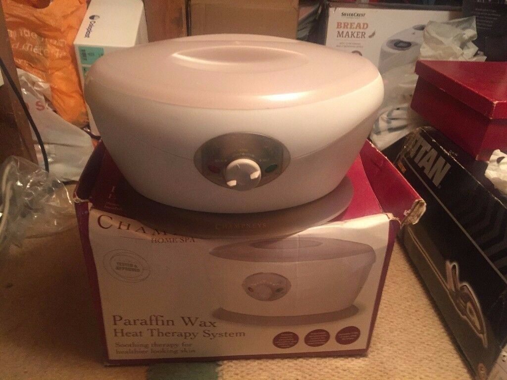 Paraffin wax heat therapy system