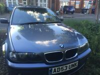 BMW 2004 318 E46 PETROL , MOT UNTIL MARCH 2017 , TAXED AND INSURED , SUPREB DRIVE