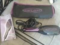Still for sale Heated straightening brush