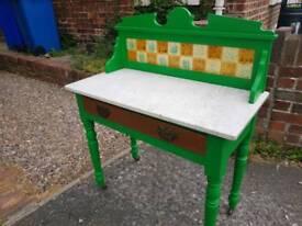 Vintage Marble Washstand