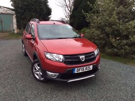 Dacia Stepway - low mileage with three years warrenty only £5999
