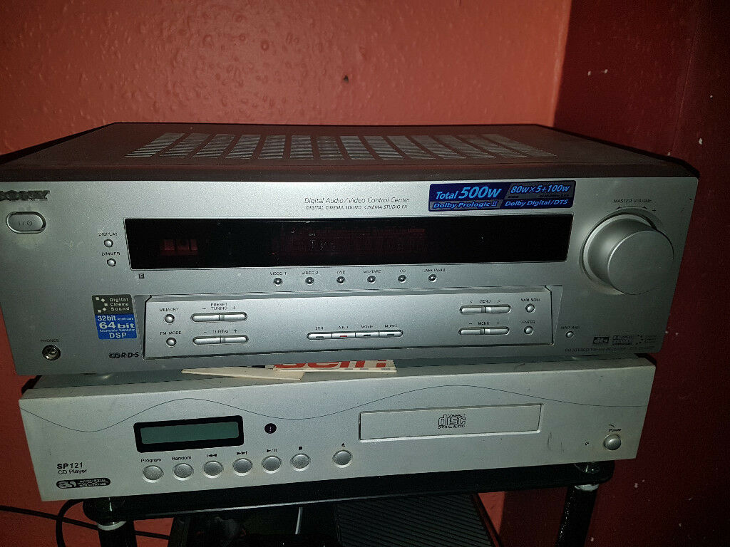 Sony STR-DE495P 5 1 amp & Eltax Century 430 Floorstanding Speakers | in  Clydebank, West Dunbartonshire | Gumtree