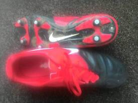 Nike football boots size 9