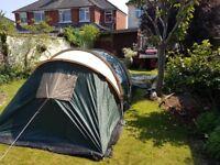 Hi seling my tent