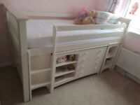 Julian Bowen bunk bed sleep station with premier mattress left and right hand two available