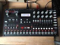 Elektron Analog 4 (A4) w/ box & premium sound packs