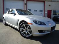2007 Mazda RX-8 4 Door Coupe Leather Sunroof LOW Kms 6-Speed