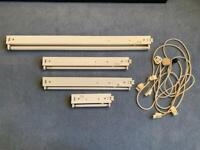 4x Kitchen Cupboard Strip Lights & Cables