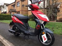 2015 Lexmoto FM50 Scooter spares or repair (Non Runner)