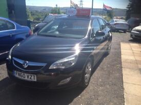 vauxhall astra 1.7 cdti exclusive hatchback warranted millage full service history