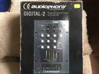 AUDIOPHONY DIGITAL-2 PROFESSIONAL MIXER 2 USB PORTS